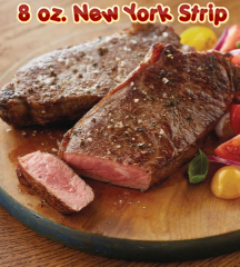 New York Strip 8 oz
