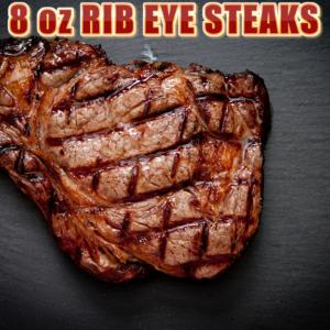 Ribeye Steaks 8oz