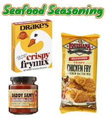 SAUCES & SEASONINGS - SEAFOOD