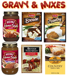GRAVY & GRAVY PACKS