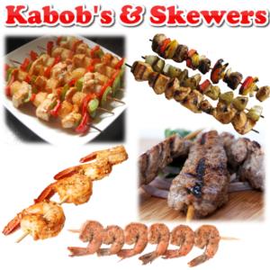 KABOBS & SKEWERED MEAT